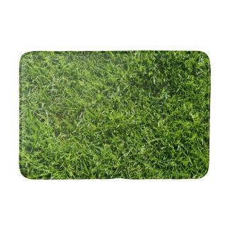 Alfombrilla De Baño Estera de baño de la hierba verde