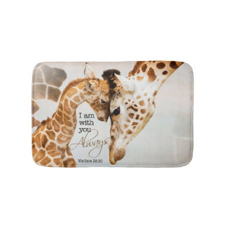Alfombrilla De Baño estera de baño de la jirafa