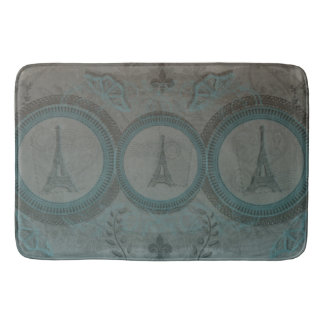 Alfombrilla De Baño Estera de baño de tres torres Eiffel