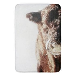 Alfombrilla De Baño Estera de baño del ganado de Corriente
