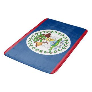Alfombrilla De Baño Estera de baño grande con la bandera de Belice