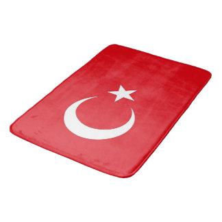 Alfombrilla De Baño Estera de baño grande con la bandera de Turquía