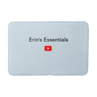 Alfombrilla De Baño Estera de baño media de YouTube