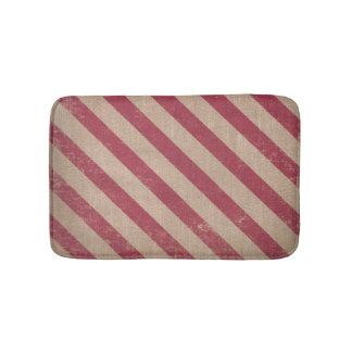 Alfombrilla De Baño estera de baño roja del navidad del bastón de