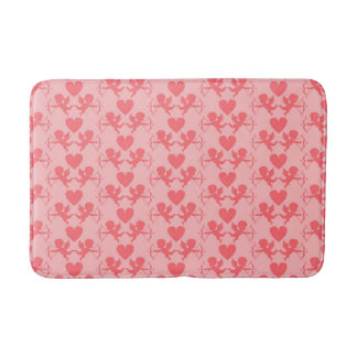 Alfombrilla De Baño Estera de baño rosada del corazón