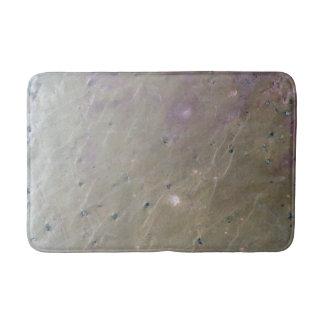 Alfombrilla De Baño Estera de ducha de piedra de la mirada