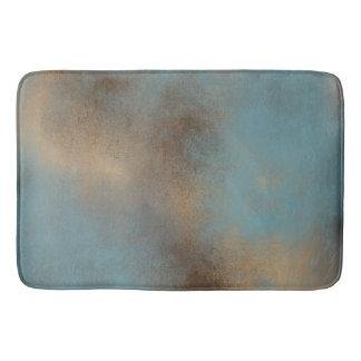Alfombrilla De Baño Estera Trullo-Azul, del oro y de Brown serena el  