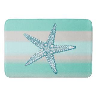 Alfombrilla De Baño Esteras de baño náuticas de las estrellas de mar