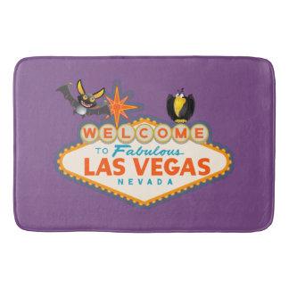 Alfombrilla De Baño Estilo de Las Vegas del feliz Halloween