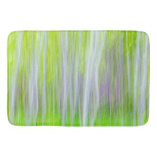 Alfombrilla De Baño Extracto del rastro del río de los árboles el |
