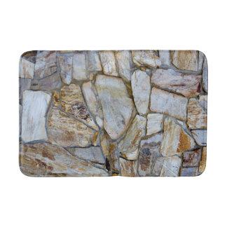 Alfombrilla De Baño Foto de la textura de la pared de la roca