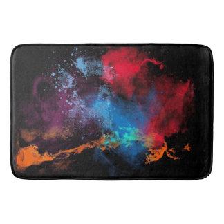 Alfombrilla De Baño Manchas multicoloras de la pintura