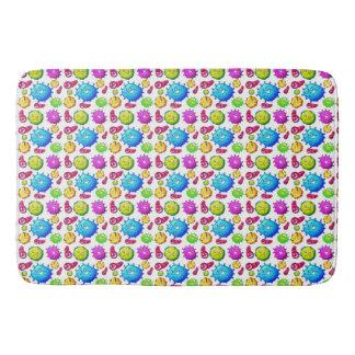 Alfombrilla De Baño Modelo colorido de las gemas