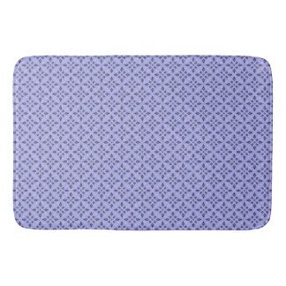Alfombrilla De Baño Modelo de mosaico retro púrpura