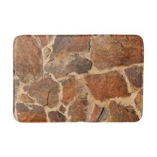 Alfombrilla De Baño Naranja de oro de la estructura de la pared de