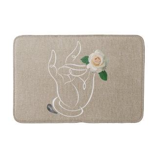 Alfombrilla De Baño Olor de Jitaku la estera de baño de los rosas