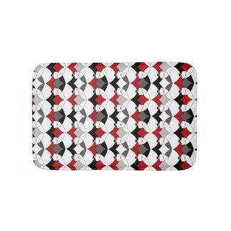 Alfombrilla De Baño Ornamento tribal abstracto.