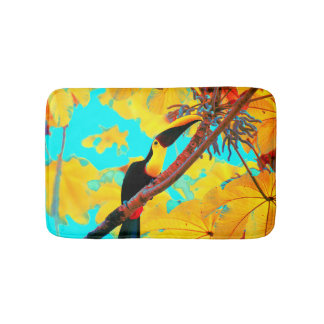 Alfombrilla De Baño Pájaro tropical de Toucan