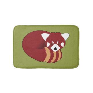 Alfombrilla De Baño Panda roja