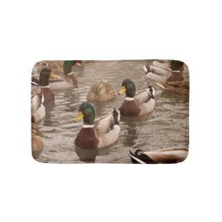 Alfombrilla De Baño Patos del pato silvestre en la estera de ducha del