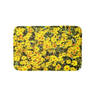 Alfombrilla De Baño Pequeña estera de baño de encargo - flores