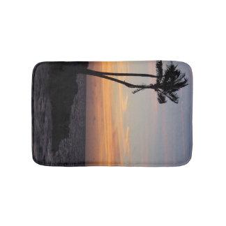 Alfombrilla De Baño Puesta del sol del océano de la estera de baño