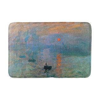 Alfombrilla De Baño Salida del sol de la impresión de Claude Monet