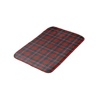 Alfombrilla De Baño Tartán escocés rojo y azul de MacPherson