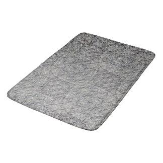 Alfombrilla De Baño Textura concreta áspera gris 060