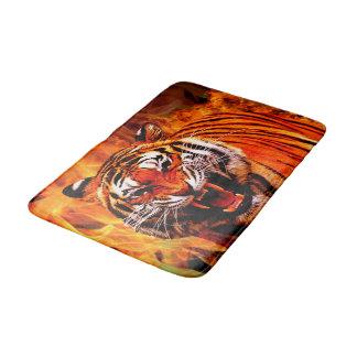Alfombrilla De Baño Tigre y llama