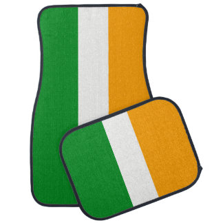 Alfombrilla De Coche Bandera tricolora irlandesa del ROI de Irlanda