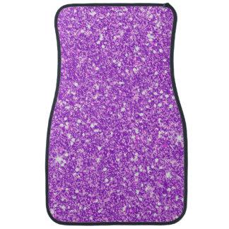 Alfombrilla De Coche Brillo de lujo del diamante púrpura del brillo
