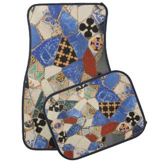 Alfombrilla De Coche Decoración del mosaico