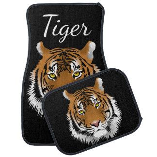 Alfombrilla De Coche Fauna de la cara del tigre de Sumatran