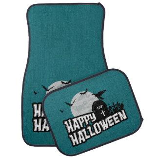 Alfombrilla De Coche Feliz Halloween
