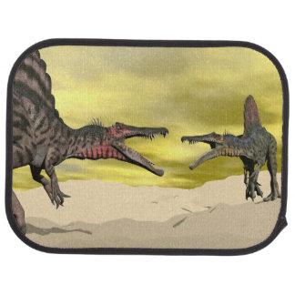 Alfombrilla De Coche Lucha del dinosaurio de Spinosaurus - 3D rinden