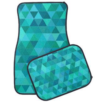 Alfombrilla De Coche Modelo del triángulo del trullo