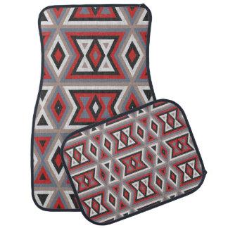 Alfombrilla De Coche Modelo indio nativo americano étnico de moda de la