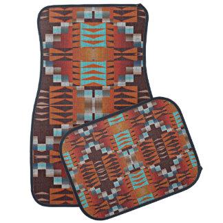 Alfombrilla De Coche Modelo tribal indio del nativo americano de moda