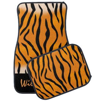 Alfombrilla De Coche Rayas salvajes personalizadas del tigre de la cosa