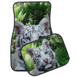 Alfombrilla De Coche Tigre blanco