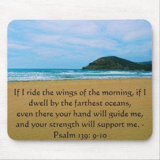 Alfombrilla De Ratón 139:9 del salmo - CITA BÍBLICA HERMOSA 10
