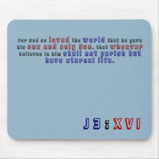 Alfombrilla De Ratón 3:16 de Juan