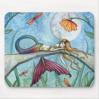 Alfombrilla De Ratón Abajo por el arte de la sirena de la charca