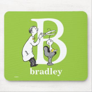 Alfombrilla De Ratón ABC del Dr. Seuss: Letra B - El blanco el | añade