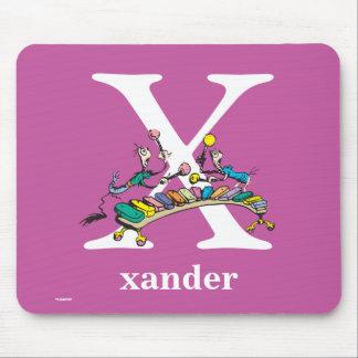 Alfombrilla De Ratón ABC del Dr. Seuss: Letra X - El blanco el   añade