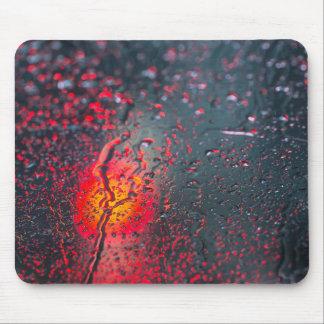 Alfombrilla De Ratón Abstarct de la luz roja