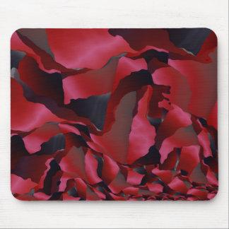 Alfombrilla De Ratón Abstracción desgastada rojo