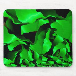 Alfombrilla De Ratón Abstracción desgastada verde