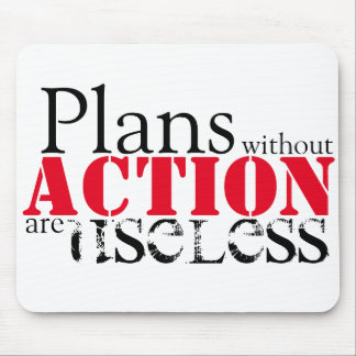 Alfombrilla De Ratón Acción Mousepad del plan